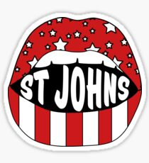 St. John's Lips Sticker