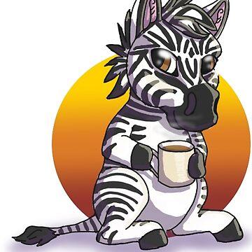 Zebra by Bamsdrawz