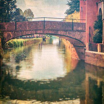 Italian waterway and bridge by sil63