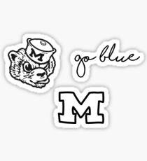 Three Michigan Minis Variety Pack Sticker
