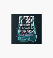 Lámina de exposición Whatever It Takes