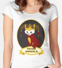 Petme Amidala Women's Fitted Scoop T-Shirt