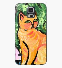 Peachy the Cat Case/Skin for Samsung Galaxy