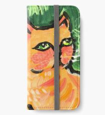 Peachy the Cat iPhone Wallet/Case/Skin
