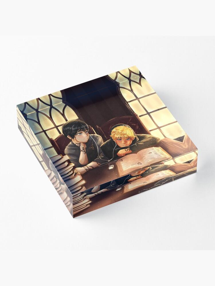Alternate view of KitTy Study Acrylic Block