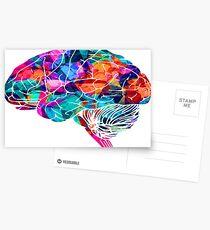Colors Brain Postcards