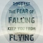 don't let the fear of falling keep you from flying by psychoshadow
