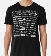 Holt insults. Men's Premium T-Shirt