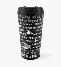 Holt insults. Travel Mug