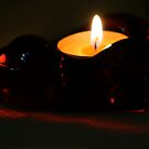 Heart Shaped Candle by Fern Design