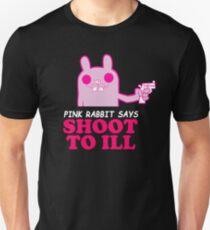 "Gorillaz - ""Rosa Hase sagt: Shoot to Ill"" Unisex T-Shirt"