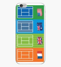 Country Emoji Grand Slam Courts iPhone Case