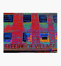 GREENWICH VILLAGE, NYC Photographic Print