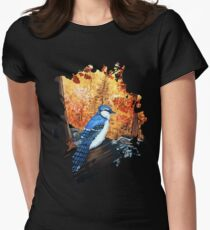 Blue Jay Life Women's Fitted T-Shirt