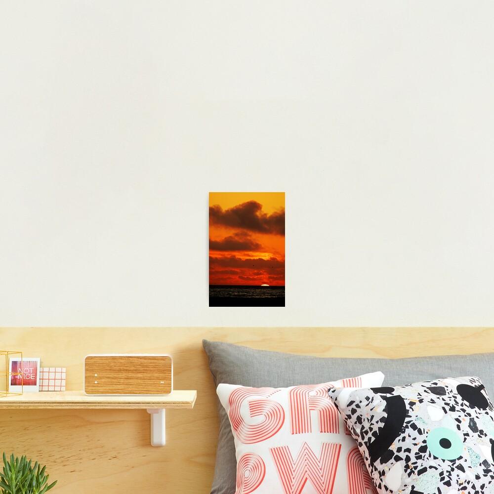 Sunset on a SoCal Beach Photographic Print