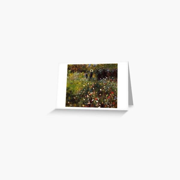 Favourite Artists - Renoir Summer Landscape  Greeting Card