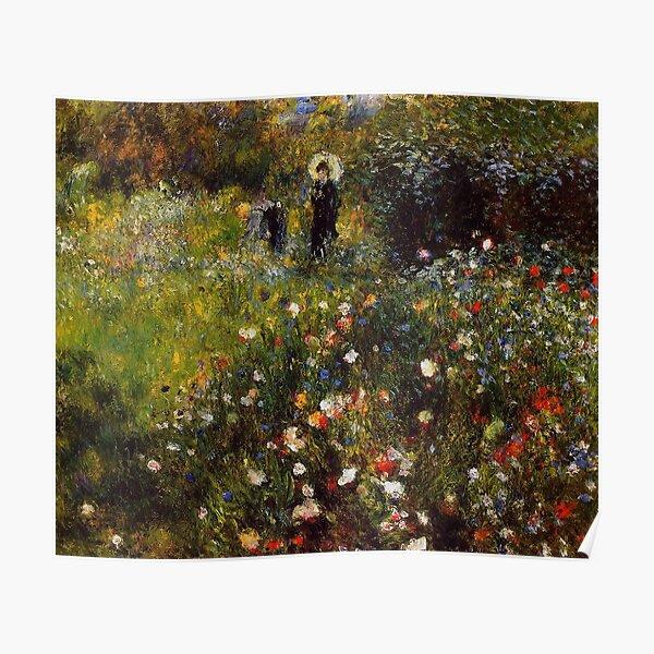 Favourite Artists - Renoir Summer Landscape  Poster