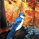 Blue Jay Life by Adam Santana