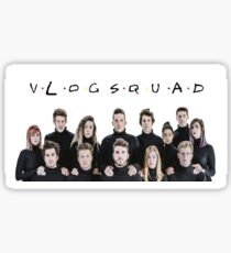 Vlogsquad friends Sticker