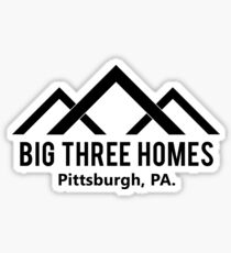 Big Three Homes - This is Us Sticker