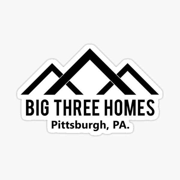 Tres casas grandes: somos nosotros Pegatina