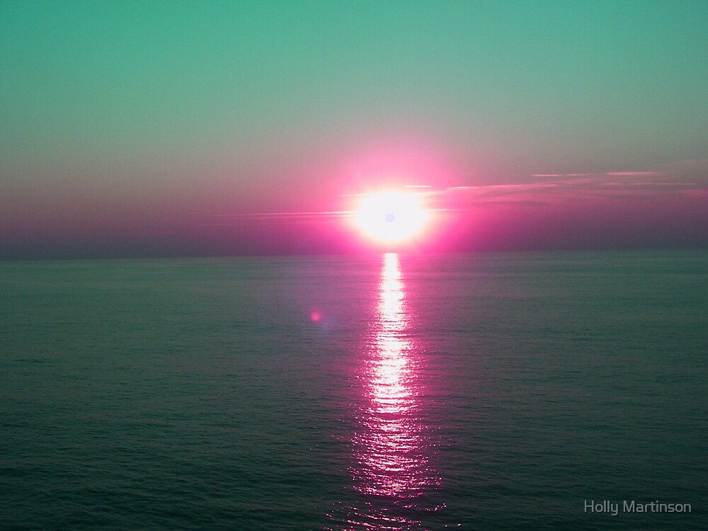 Tropical Sunset by Holly Martinson