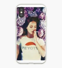 Lana Laying in Flowers iPhone Case