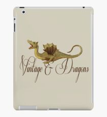 Vintage & Dragons iPad Case/Skin