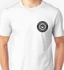 Guided Chaos Trademarked white on black circle swag! Unisex T-Shirt