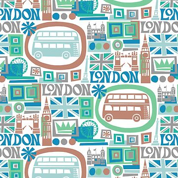London - cool graphic design by challisandroos