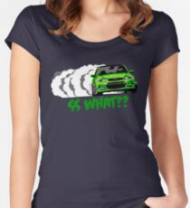 2016-17 Chevrolet SS Green Women's Fitted Scoop T-Shirt