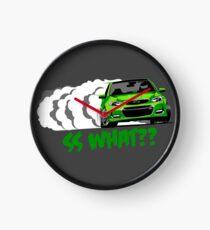 2016 Chevrolet SS- Jungle Green Clock