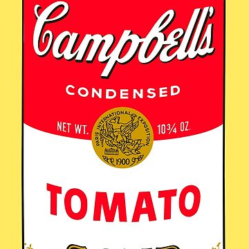 Andy Warhol Campbell Soup Can Pop art print by jasmineGold