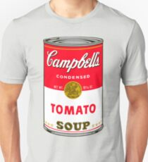 Andy Warhol Campbell Soup Can Pop art print Unisex T-Shirt