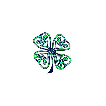 Four Leaf Clover - Celtic Knot by councilgrove
