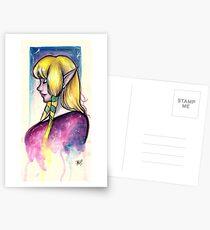 Watercolor Princess Postcards