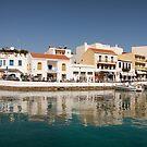 Agios Nikolaus: Harbour by Kasia-D