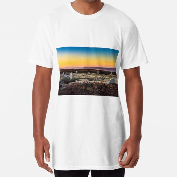 The Twelve Apostles Stone Circle on Rombalds moor Long T-Shirt