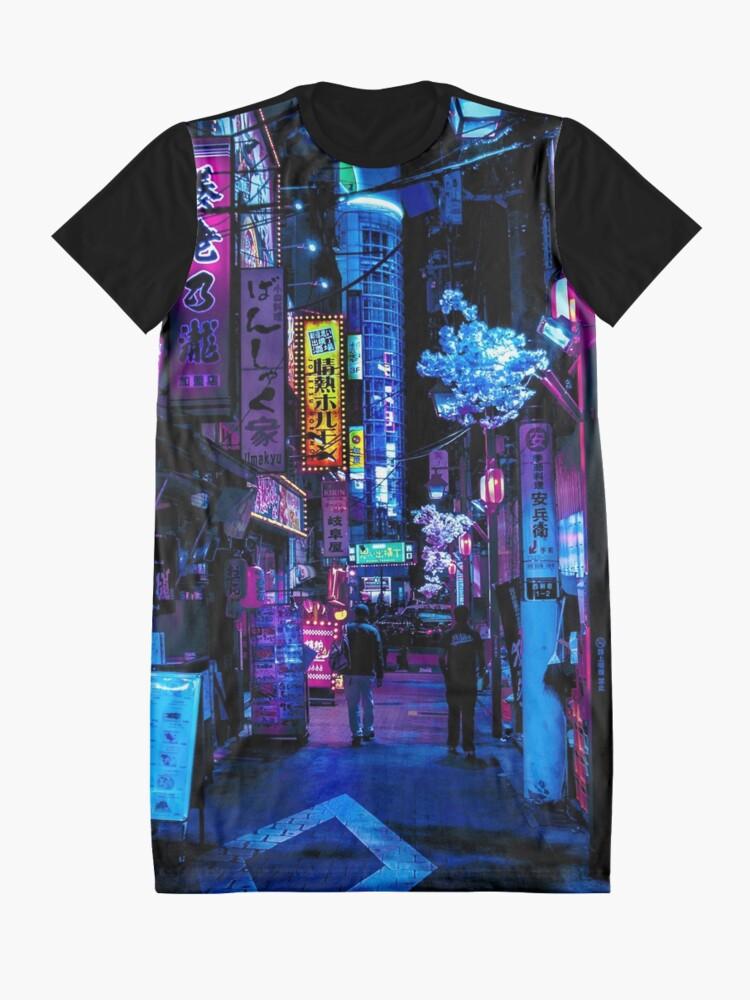 Alternative Ansicht von Blade Runner Vibes T-Shirt Kleid