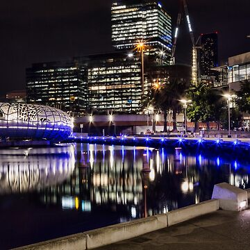 Docklands at night  by ea-photos