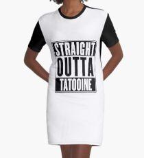 Straight Outta Tatooine (Star Wars) - T-shirt Graphic T-Shirt Dress