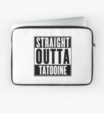 Straight Outta Tatooine (Star Wars) - T-shirt Laptop Sleeve