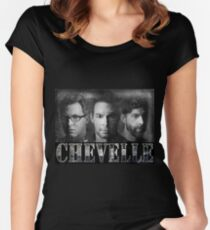 Chevelle Music Singer Band Women's Fitted Scoop T-Shirt
