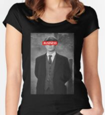 PEAKY BLINDERS TOMMY SHELBY DESIGN Women's Fitted Scoop T-Shirt