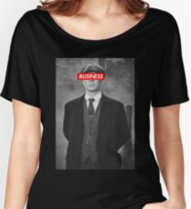 PEAKY BLINDERS TOMMY SHELBY DESIGN Women's Relaxed Fit T-Shirt