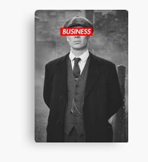PEAKY BLINDERS TOMMY SHELBY DESIGN Canvas Print