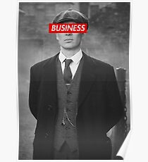 PEAKY BLINDERS TOMMY SHELBY DESIGN Poster