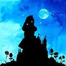 «Alicia en el país de las maravillas - Magical Watercolor Night» de maryedenoa