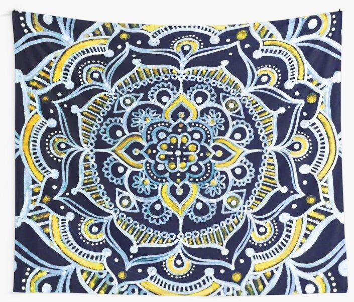 Bohemian Mandala by Inspired Images