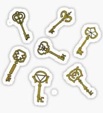 Tales of the 7 keys Sticker